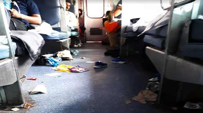 Passengers irk of poor facilities in Naharlagun-Anand Vihar Arunachal Express