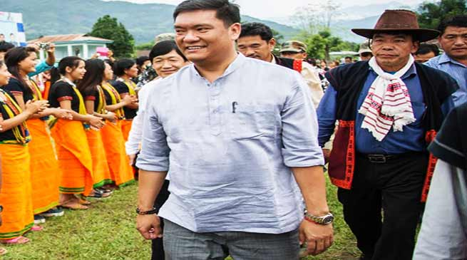 Arunachal: BJP will win all 60 seats in Coming Assembly Election- Pema Khandu