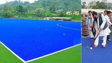 Photo of Arunachal: Mein inaugurates Astro-Turf Hockey Ground at Chimphu