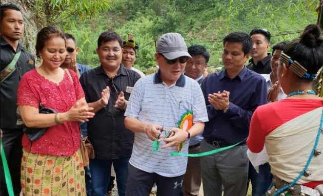 Arunachal: Rebia inaugurates Duda Village under Banderdewa Circle