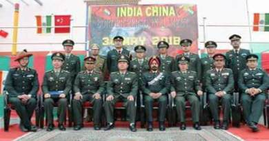 Arunachal: Flag meet between Indian and Chinese Army held at Bumla