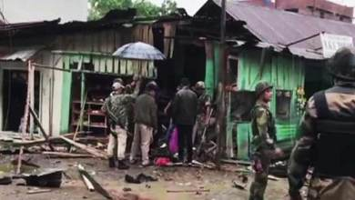 Photo of Manipur: 2 BSF jawans, 3 Civilians killed in IED Blast in Imphal