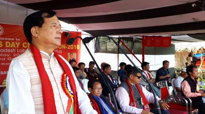Arunachal: May day celebrated across the state