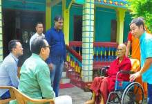 Photo of Assam: Chowna Mein visits ailing monks