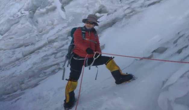 Arunachalee mother Muri Linggi scale Mt Everest
