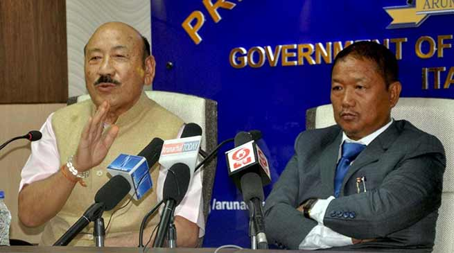 Arunachal: BJP govt under leadership of CM Pema Khandu highlighted its achievement
