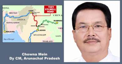 Stilwell Road needs to be revived for boosting trade relation with ASEAN countries- Chowna Mein