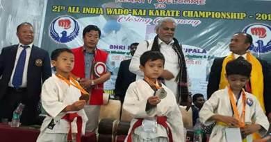 Itanagar: 21stAll India Wado Kai Karate Championship-2018 concludes
