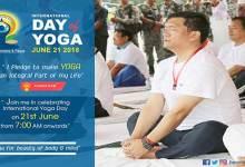 International Yoga day 2018- Yoga for peace