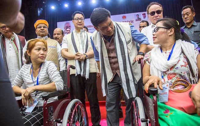 Arunachal: Govt is in mission to make state disability-free