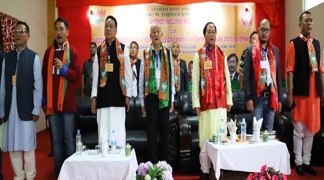 Arunachal; Pema Khandu led government is appreciable- Thongdok