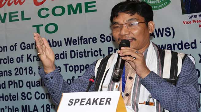 Arunachal: education is the backbone of the society- Takam Pario
