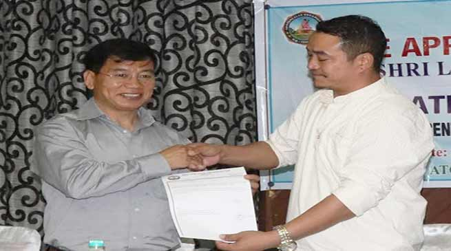 Arunachal: Khandu Govt  is people oriented govt for development- Likha Maj
