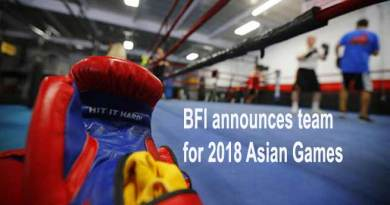 BFI announces team for Asian Games-2018
