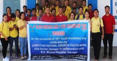 Itanagar: CRC donates 23 units of blood to RK Mission Hospital
