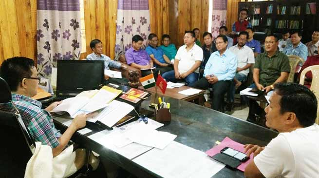 Arunachal:  DC Kra Daadi hold district review meeting