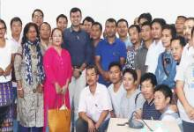 Itanagar:  Dist Admin distributes Furniture to capital schools