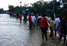Photo of Assam: NDRF evacuates 1946 people from flash flood hit Dolahat in Lakhimpur