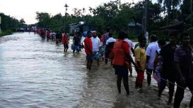 Assam: NDRF evacuates 1946 people from flash flood hit Dolahat in Lakhimpur