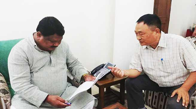 Arunachal: Ering requests Oram, include 5 Tribes of AP in ST list
