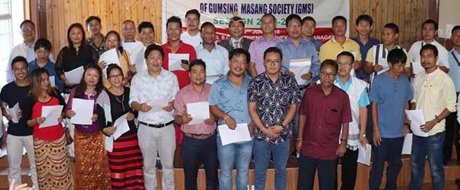 Itanagar: work for the community and clan- Gumsing Masang Society