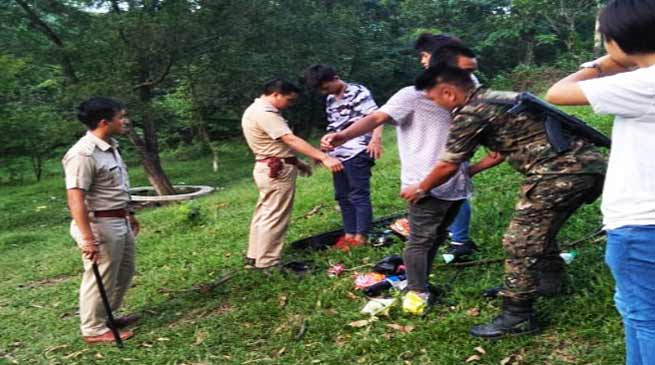 Arunachal: Capital Police launches sensitisation drive at IG Park