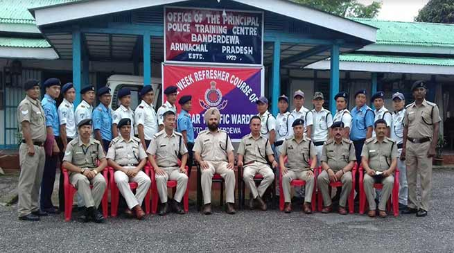 Itanagar: ITW under training of traffic management module at PTC