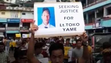 Photo of Itanagar: Toko Yame case, AEKDSU demands CBI enquiry
