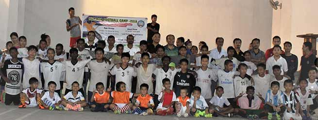 Arunachal: RGU organised Summer Football camp