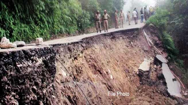 Arunachal: Balipara-Charduar-Tawang road closed till June 24 due to massive landslides