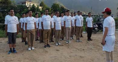 Itanagar: Fitness make man perfect- SP Fire Service