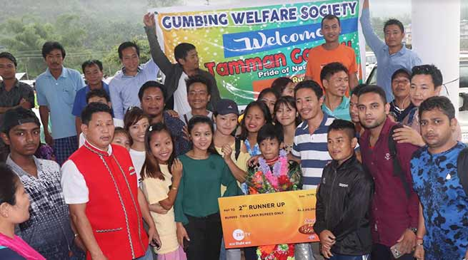 Arunachal: DID little master Tamman Gamnu given warm reception