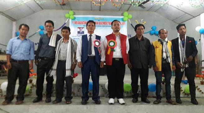 Arunachal: CRC Toru organises music training graduation day