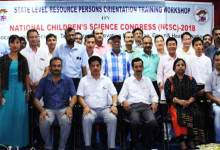 Itanagar: training workshop on national children science congress 2018