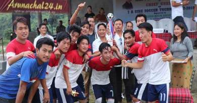 Arunachal: Champion FC wins 7A side Soccer Tournament 2018