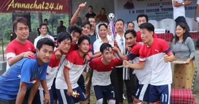 Arunachal:Champion FC wins 7A side Soccer Tournament 2018