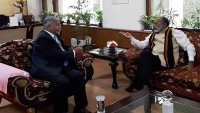 Photo of Arunachal:Governor meets Alphons, discusses Tourism Promotion in state