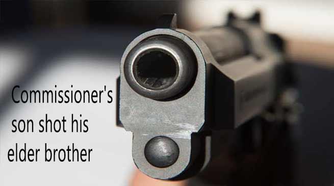 Arunachal: Commissioner's son shot his elder brother