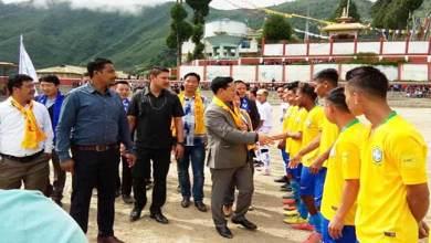 Arunachal: Independence cup football tournament begins