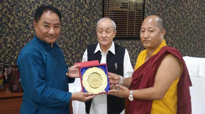 Arunachal: MPs of Tibetan Government in Exile meets with Speaker APLA