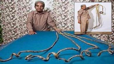 Photo of Watch Video- Shridhar Chillal, Indian man with world's longest nails, finally cuts after 66 years