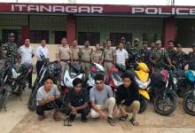 Photo of Arunachal:  Bike lifter Gang busted, 15 bikes recovered