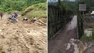 Photo of Arunachal: Roads and bridges in Changlang are in poor condition