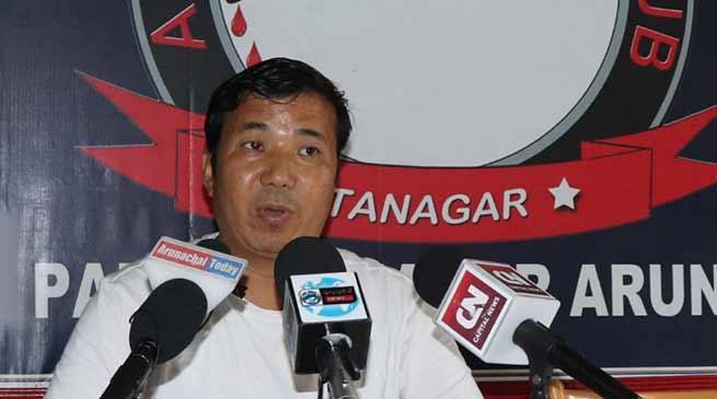 Itanagar : IHHT fund mismanaged- alleges Gora Lotak
