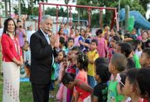 Itanagar: Governor Visits Children Park, interacts with Children