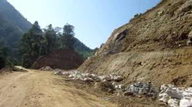 Itanagar: TK Engineering reacted to West Siang DCC allegation on slow progress of Likabali-Bame road