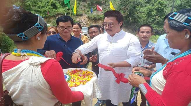 Arunachal:Saaya inaugurated Upgraded Middle School at Toon