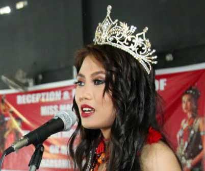 Arunachal: Mariam Longri gets warm welcome in Kharsang