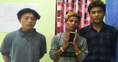 Itanagar: Capital police arrested 3 Mobile Snatchers within One hour