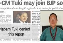 Photo of Arunachal:Nabam Tuki denied any move to join BJP